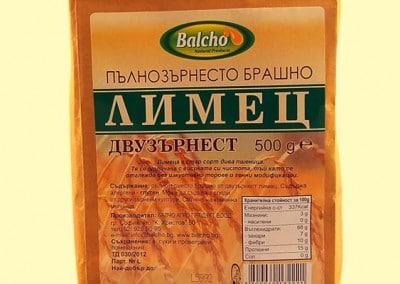 Пълнозърнесто брашно от Двузърнест лимец