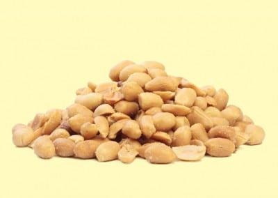 Cacahuetes tostados pelados